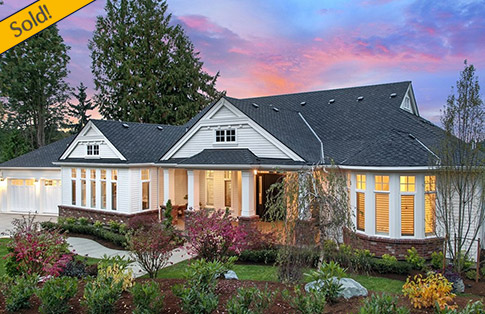 BDR Fine Homes Announces The Start Of Construction Of A Fresh New  Traditional Home Design In West Bellevue. This Home Boasts Over 6,500 Sq.  Ft. And Features ...