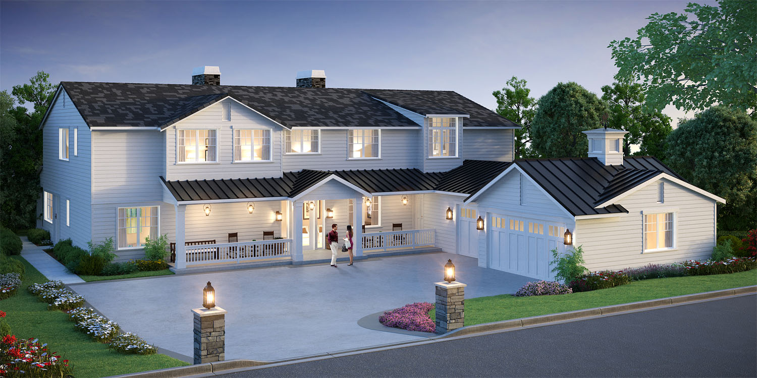Introducing A Fresh New Farmhouse Design By BDR Fine Homes Located In The  Sought After Enatai Neighborhood. This New Luxury Home Boasts Over 5,400 SF  And ...