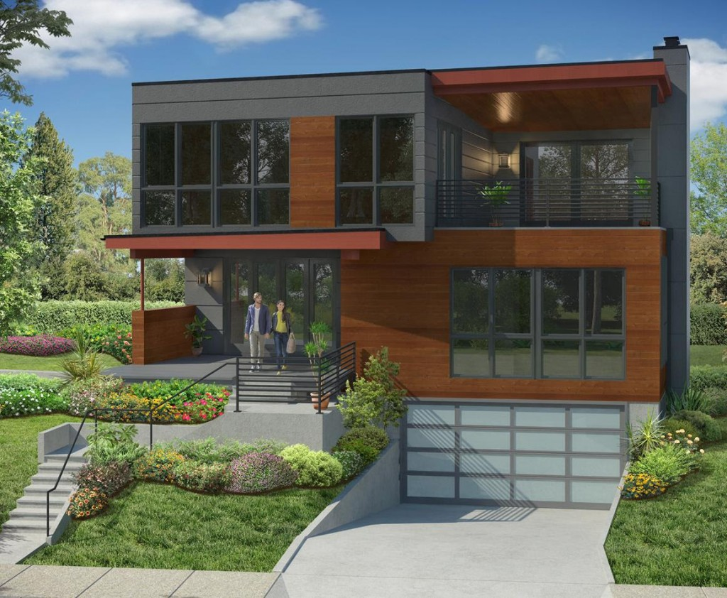 BD Homes nnounces the Start of onstruction of 4 New Modern ... - ^