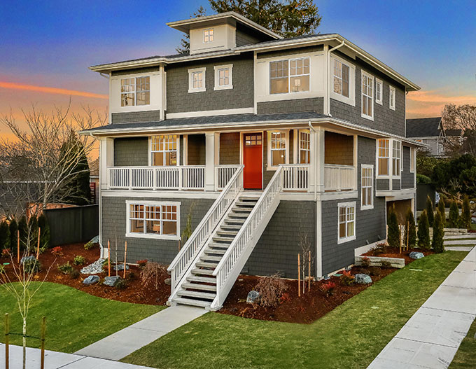 Introducing A Fresh New Craftsman Home Design In The Heart Of Seattleu0027s  Coveted Windermere Neighborhood. Boasting Over 3,800 Square Feet With 4  Bedrooms ...
