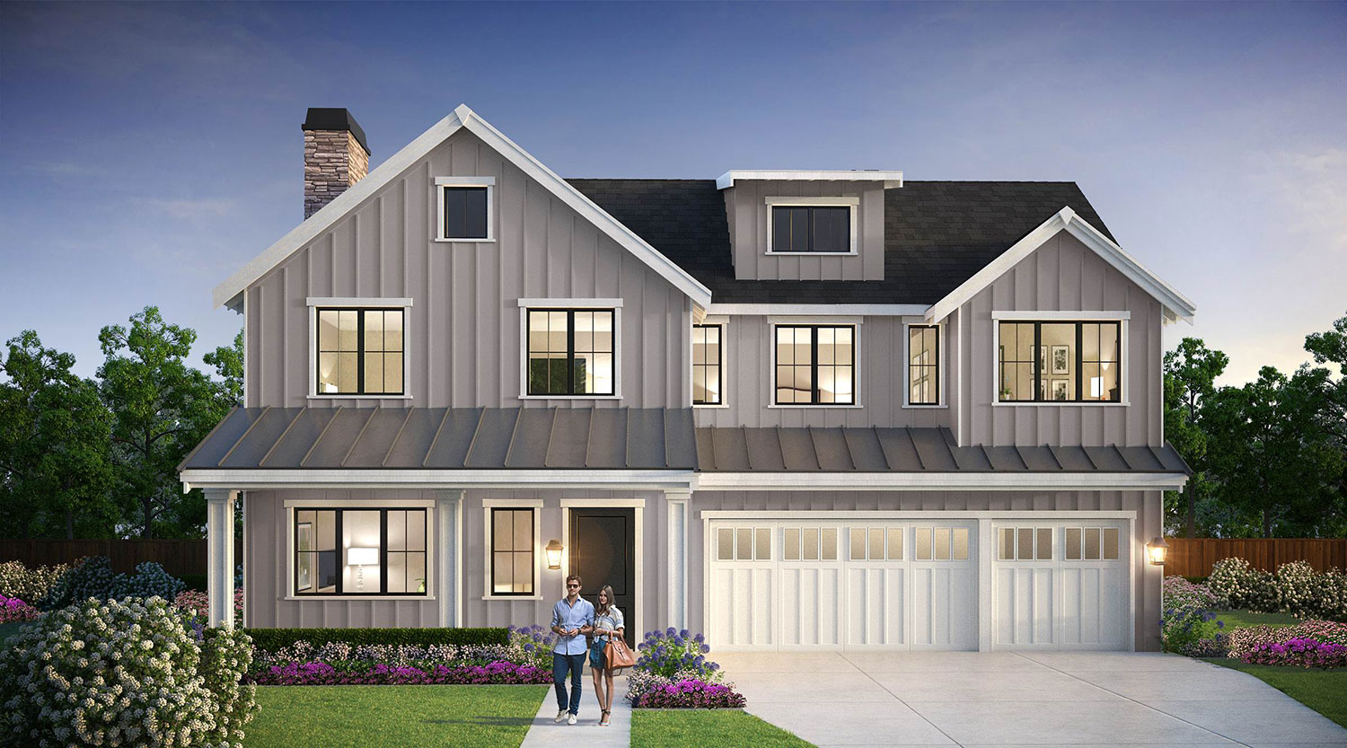 Discover The Very Finest In Luxury Living With This New Farmhouse Design By  BDR Fine Homes. Boasting Over 4,300 SF And 4 Bedroom Suites Plus A Den, ...