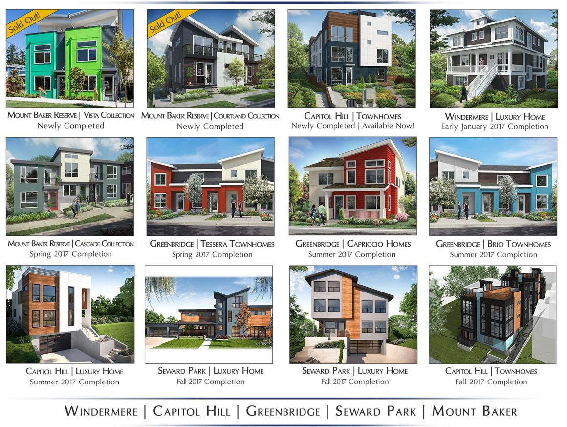 Bdr homes announces the 2017 collection of seattle homes for New home communities seattle