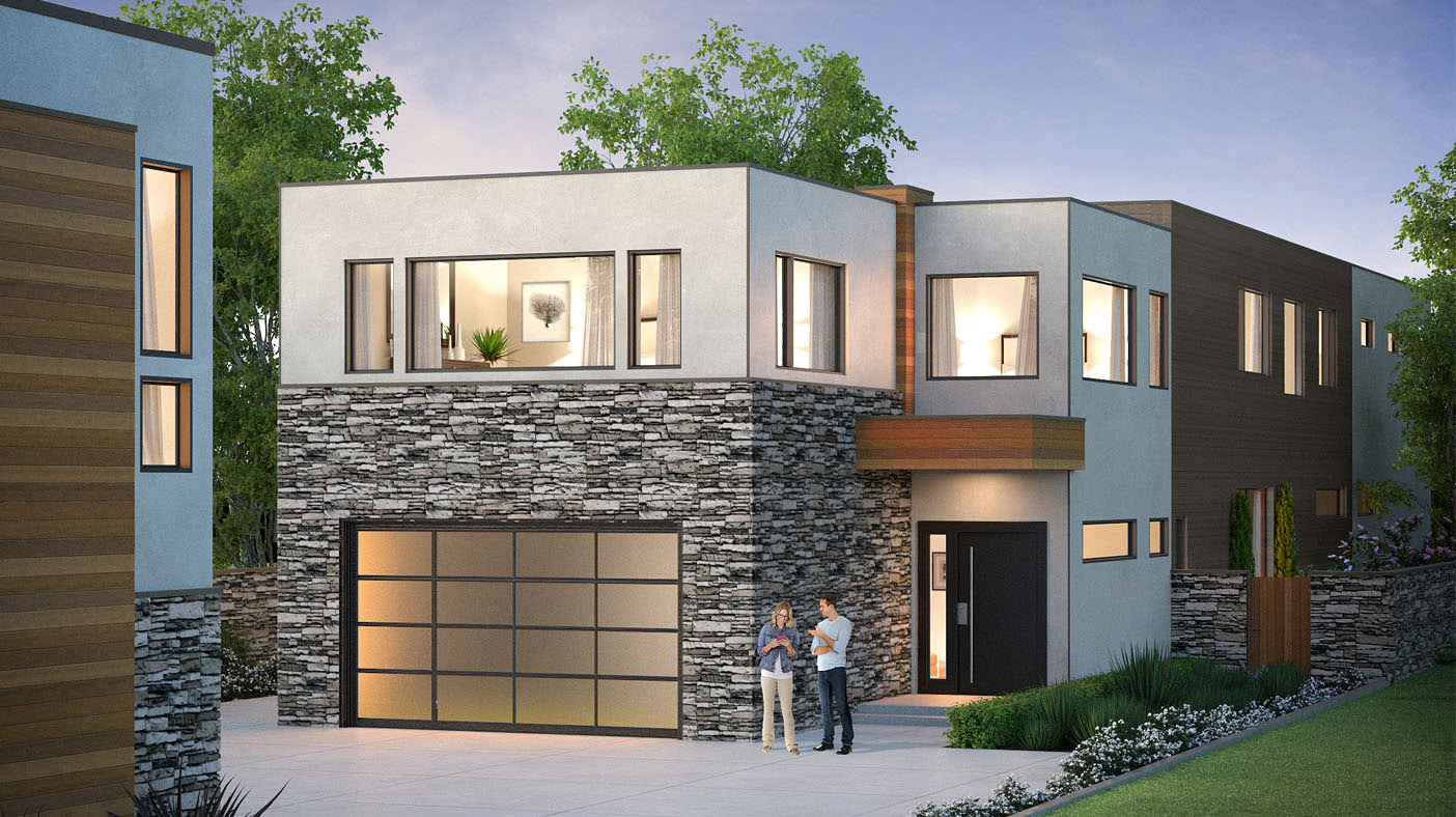 Discover The Very Finest In Modern Luxury Living With This New Design From  BDR Fine Homes. Boasting Over 6,100 SF And 5 Bedroom Suites Plus A Den, ...