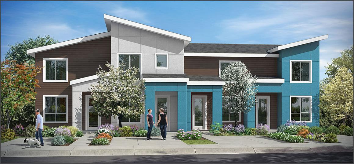 News bdr companies for Townhome layouts