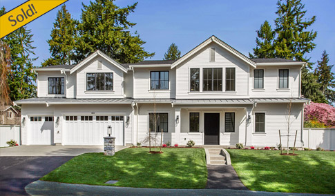 Introducing A Fresh New Farmhouse Design By BDR Fine Homes, Centrally  Located On Mercer Island. This New Luxury Home Boasts Over 4,400 Sq. Ft.  And Features ...