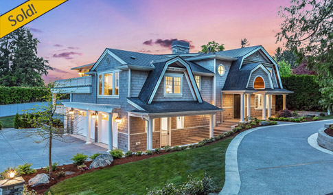 Introducing A Fresh New Dutch Colonial Design Located On The Fabulous West  Side Of Yarrow Point. This New Luxury Home Boasts Over 6,800 SF And 5  Bedroom ...