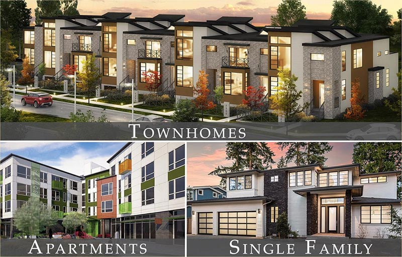 BDR Homes Is Looking For Land In Kirkland For High Quality Apartment,  Townhome And Single Family Home Communities. The Principals Of BDR Homes  Have Been ...
