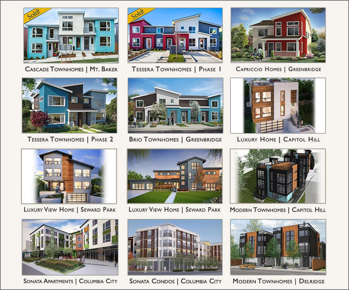 Bdr Urban Is Pleased To Introduce The 2018 Seattle Collection Offering Exceptional New Housing Choices In S Hottest Neighborhoods